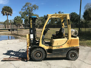2012 Hyster H50ft 5000 Lbs Forklift