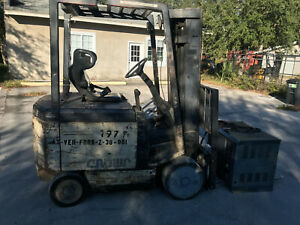 Electric Forklift 5000 Lb Electric Crown