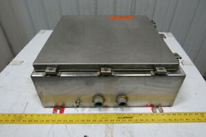 Auto Tronic Controls 24 X 24 X 8 Stainless Steel Electrical Enclosure Cabinet