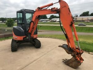 09 Hitachi 35u Mini Excavator Backhoe