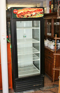 True Gem 26 26 Cubic Foot Commercial Merchandiser Refrigerator Glass On 3 Sides