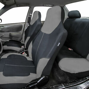 Neoprene Seat Covers For Highback Bucket Seat Auto Car Suv Van 5 Colors