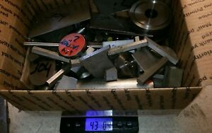 304 Stainless Steel Round Stock 42 Pounds Huge Lot And Other Shapes
