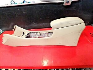 98 02 Honda Accord Center Armrest Shift Shifter Console Oem Leather Tan Coupe