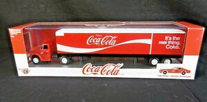 M2 Machines Coca-Cola 1970 Cheverolet C60 Truck With 1971 Camaro SS 396