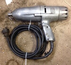 Ingersoll Rand Electric Impact Wrench Mechanics High Torque Model A Size 8u Mili