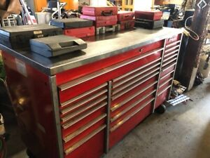 Snap On Klr1003b Toolbox Loaded With Tools Stainless Top
