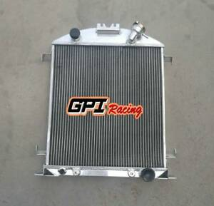 62mm Aluminum Radiator Ford Model A W chevy 350 V8 Engine A t 1928 1929