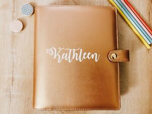 Custom 2019 A5 Size Planner Custom Planner Personalized Planner