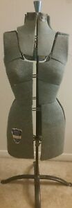 Sears Robuck Vintage Antique Adjustable 18 Section Dress Form Size A