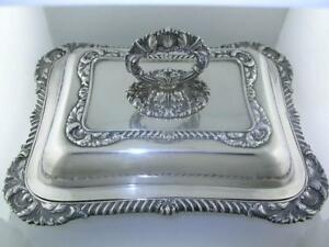 Sterling International Covered Vegetable Dish Lord Robert 65 94 Troy Ozs