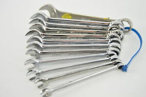 Snap on Oexm 12 piece Metric Wrench Set 7mm 18mm