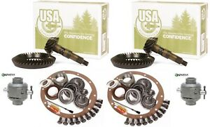 87 96 Jeep Wrangler Yj Xj Ford 8 8 Dana 30 4 56 Ring And Pinion Spartan Gear Pkg