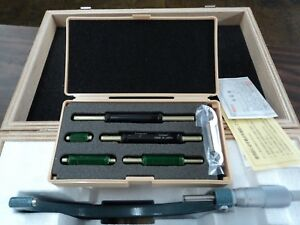 Mitutoyo 103 904 10 Outside Micrometer Set 0 6