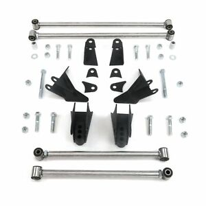 Ford 1941 1948 Adjustable Triangulated Four 4 link Suspension Kit Fat Fender Car