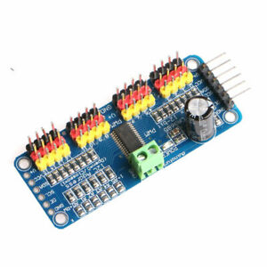 Part 16 Channel 12 Bit Pwm Servo Motor Driver I2c Module For Arduino Robot