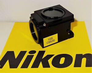 Nikon Chroma Igs Fluorescent Microscope Filter Cube For E400 600 Te200 300