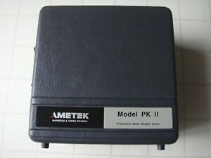 Ametek Model Pk Ii