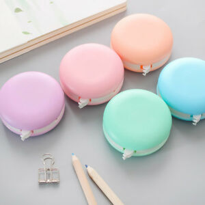 Cute Macaron Roller Correction Tape White Out 8m Long Student Office Stationery