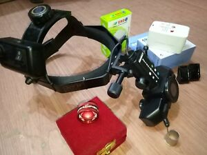 Indirect Binocular Led Ophthalmoscope With 20 D Lens Made By Indian Manufacture