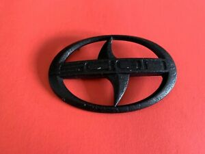 05 06 07 08 09 10 Scion Tc Front Grill Grille Emblem Logo Badge Blacked Out