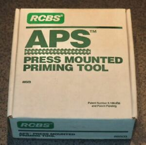 RCBS APS Press Mounted Priming Tool-(88503)-in box-Complete