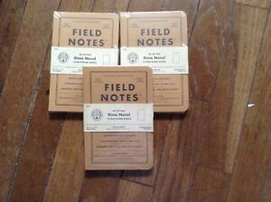Field Notes Lot Of Dime Novel Notebooks Three 2 packs
