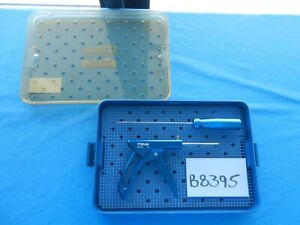 Mitek Surgical Orthopedic Easy Out Instruments W Case