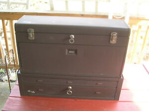 Kennedy Top 28 1 2 Long 8 Drawer Bottom Riser Machinist Tool Boxes