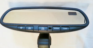 2004 2005 nissan maxima rear view mirror Gntx 313 Garage Remote And Compass