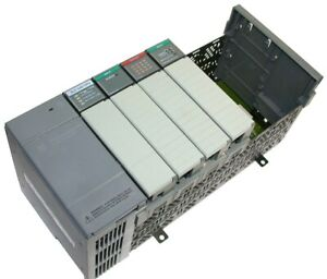 Up To 2 Loaded Allen Bradley 7 Slot Slc 500 Plc 5 02 System