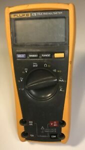 Fluke 175 True Rms Digital Multimeter Meter No Leads Included