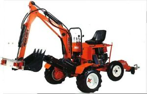 Starter Kit 360 Slew Mini Excavator Trench Digger Towable On Road Powerfab