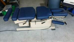 Hill Aft Automatic Flexion Chiropractic Adjusting Table
