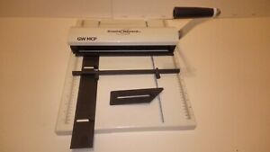 Graphic Whizard Gw Mcp Manual Creaser Scoring Creasing