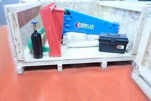 Felix Hydraulic Hammer Breaker Skid Steer Loader Type 2 5 To 4 5 Ton Diam 2 09in