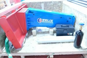 Felix Hydraulic Hammer Breaker Skid Steer Loader Type 4 To 7 Ton Diam 2 68inch