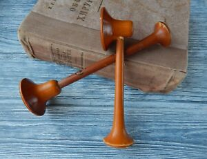 Vintage Wooden Folding Stethoscope Medical Tool Instrument Military Doctor Gift