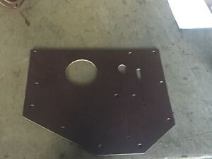 Wc Dodge Command Car Carryall Transmission Draft Pad Powerwagon