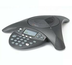 Polycom Soundstation 2 Non expandable 2201 16000 601 With Adapter