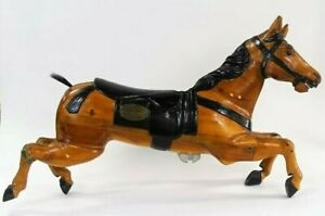 Great Antique 19th Century French Limonaire Freres Paris Wooden Carousel Horse