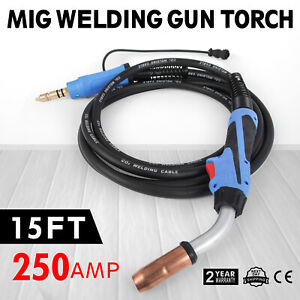 Mig Welding Gun torch 12 250a For Millermatic ironman 250 replace Miller M25