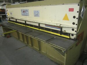 13 5 Sheet Metal Shear Hydraulic Squaring Machine Farina Cfo 405