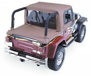 Rampage 994017 Soft Cab Top Fits 97 02 Tj Wrangler