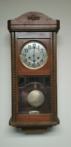Antique German Junghans Gottlieb Chime Wall Clock