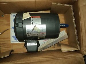 Emerson Usem R465 Motor 1 Hp 208 230 460 Hp 3 Phase 143tc Fr 1740 Rpm
