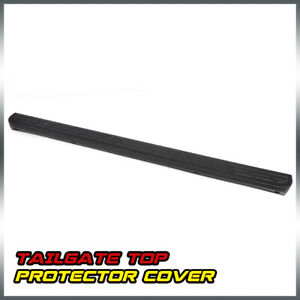 For Silverado Sierra 1500 Black Tailgate Moulding Top Protector Cover 2007 2014