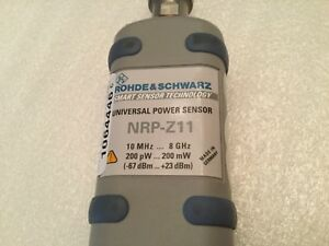 1 Rohde Schwarz Nrp z11 Universal Power Sensor 10mhz 8ghz Used parts Only