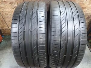 2 265 45 20 108y Continental Conitsportcontact 5p M0 Tires 7 7 5 32 No Repairs