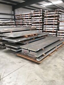 7075 t7351 3 5 X 56 35 X 155 g Aerospace Grade Rolled Aluminum Alloy Plate